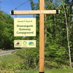 Sign for the Samuel F. Pryor III Shawangunks Gateway Campground
