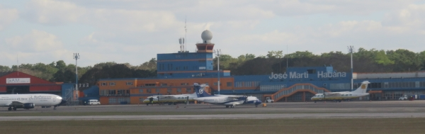 José Martí International Airport in Havana.