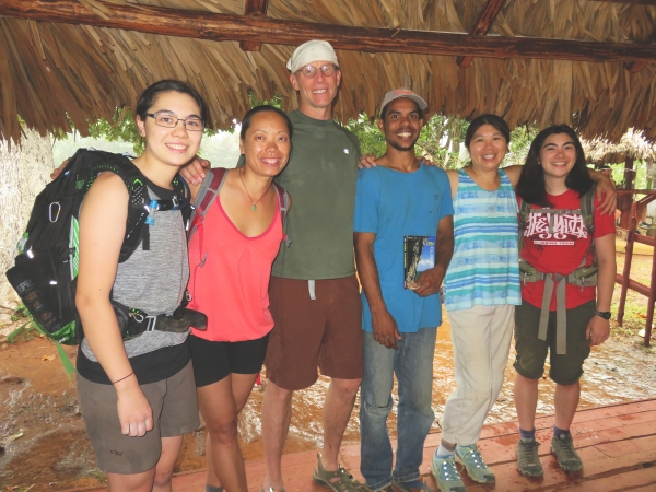 Our group at Raul's farm in Viñales, Cuba.
