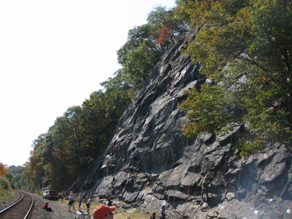 ClimbFest at the West Point Poison Ivy Wall, in 2010.