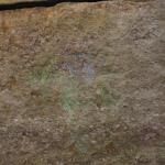 sidewalk chalk on the cliff