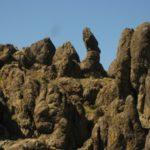 New Jack City climbing area near Barstow, California.